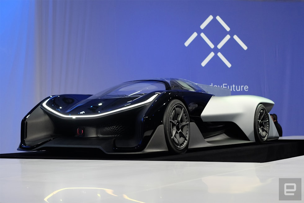Gallery Faraday Future Ffzero1 At Ces 2016 9 Photos