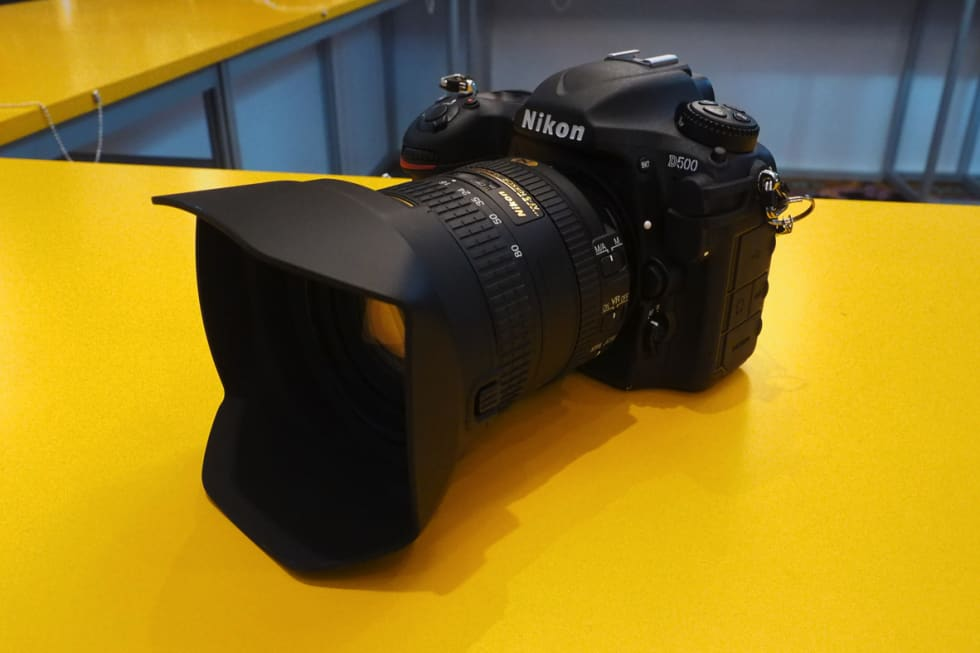Nikon D500 and KeyMission 360 hands-on