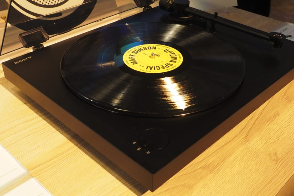 Sony's Hi-Res Audio turntable hands-on