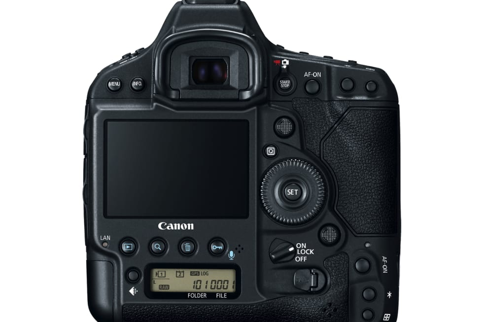 Canon EOS-1D X Mark II press images