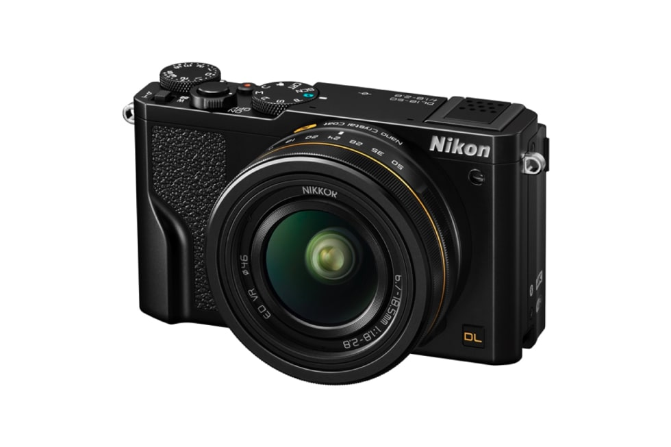 Nikon DL cameras press images