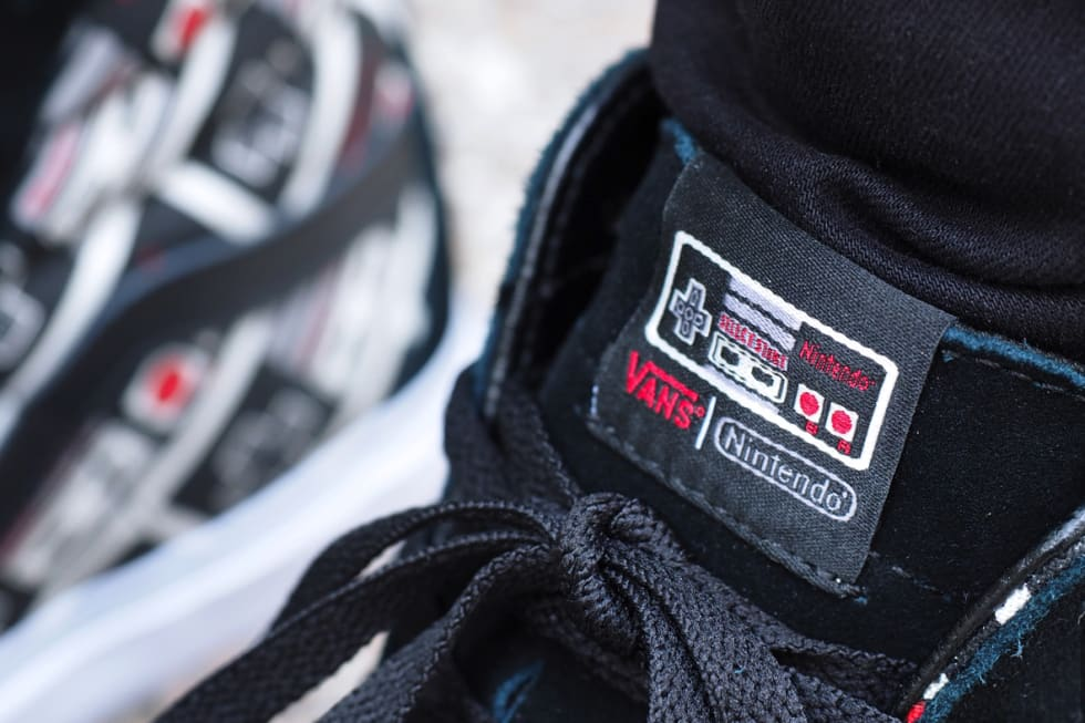 A closer look at the Vans x Nintendo collaboration