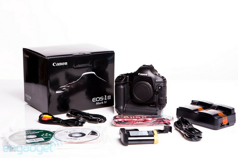 Canon\'s EOS-1D Mark IV gets unboxed, high ISO modes tested