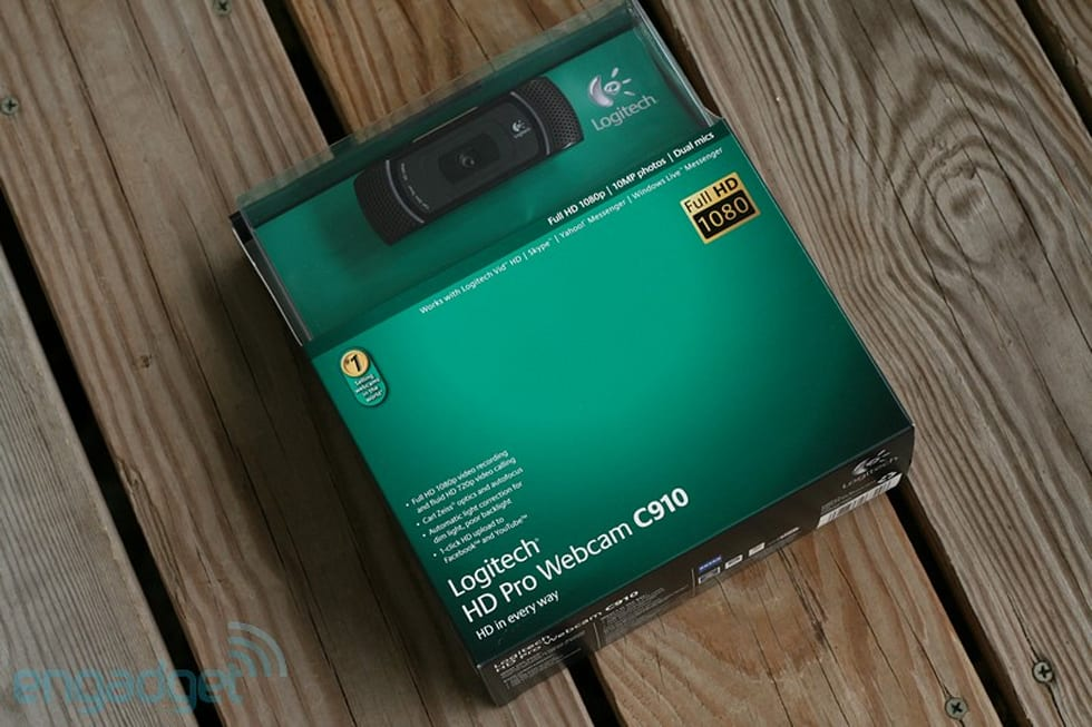 logitech hd pro webcam c910 manual
