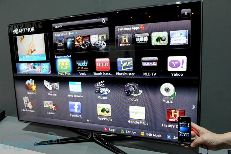 Samsung Smart Touch Remote and Smart TV hands-on