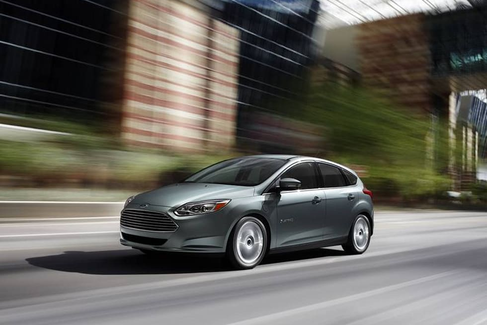 Gallery Ford Focus Electric 17 Photos