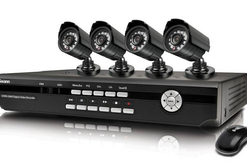 Swann DVR4-2600 kit is 4 cameras and 500GB worth of remotely