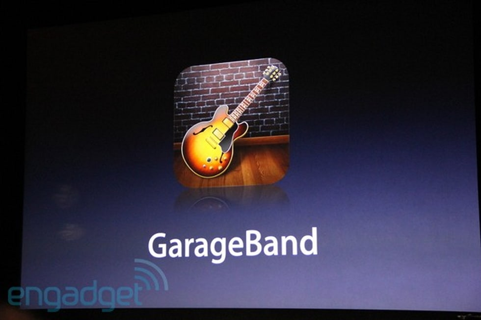Imovie Garageband For Ipad Announced 4 99 On March 11th
