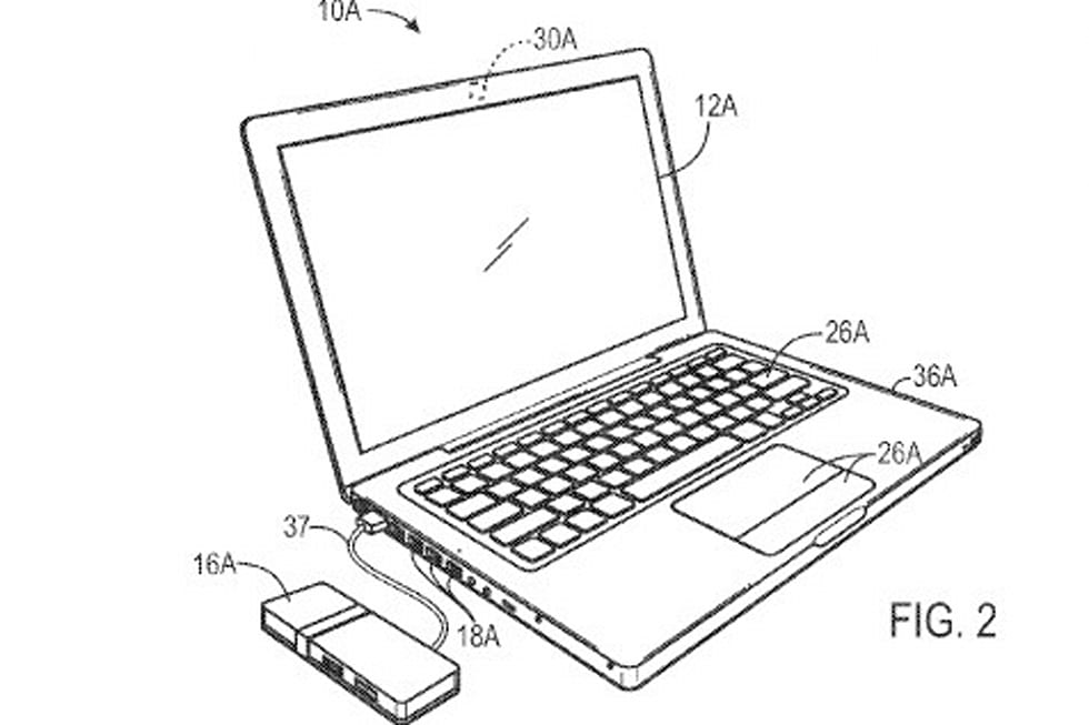 Apple pico projector patent application makes shared
