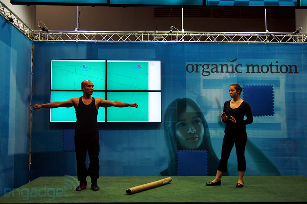 Organic Motion's OpenStage motion capture system grabs