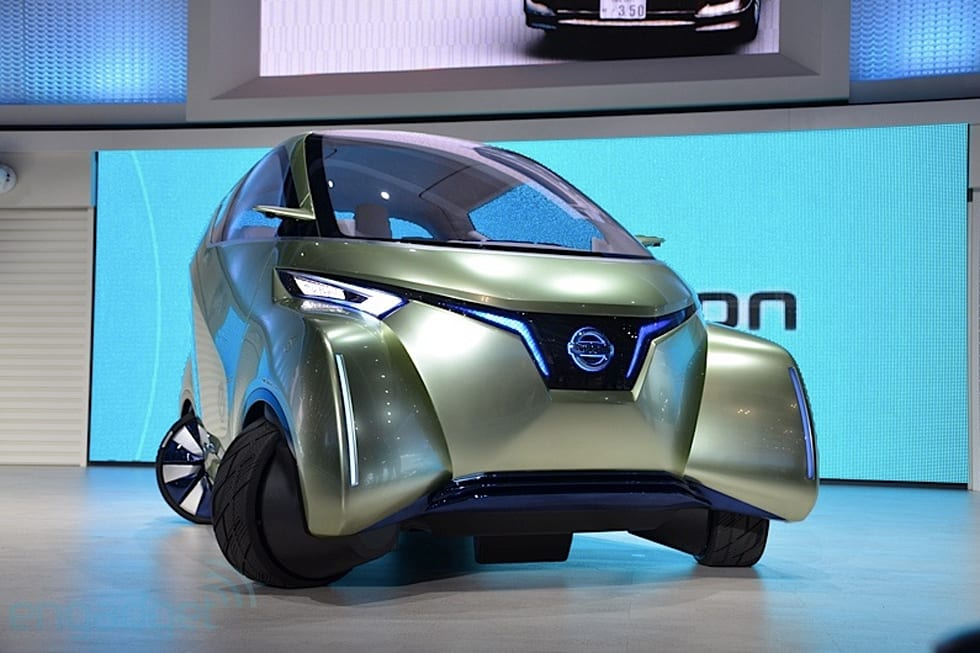Nissan Pivo 3 Extreme Agility Concept Ev Hands On