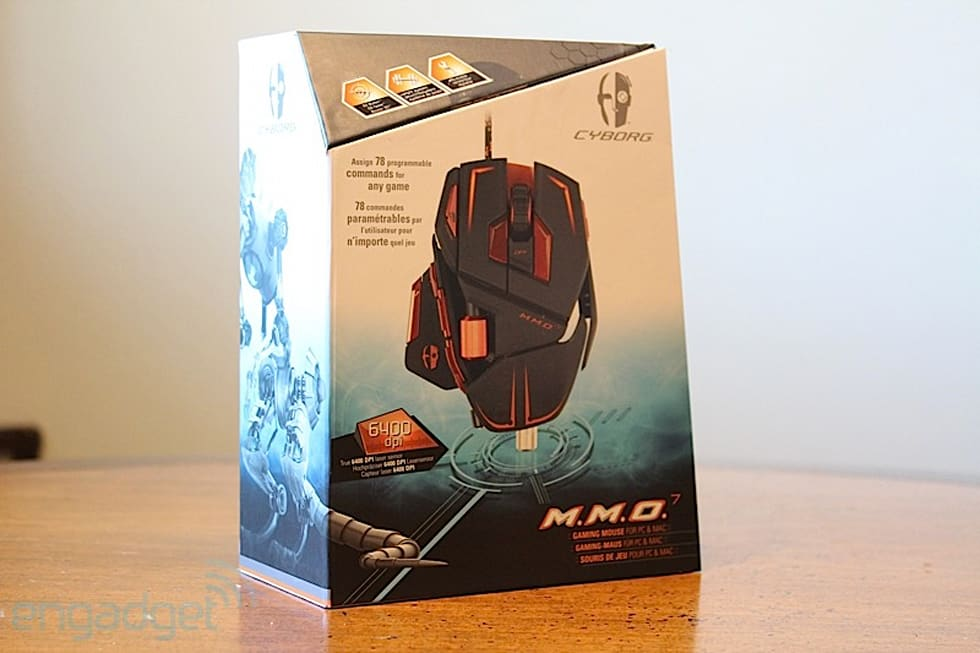 9550423bb2f Gallery: Mad Catz Cyborg M.M.O. 7 gaming mouse hands-on | 15 Photos