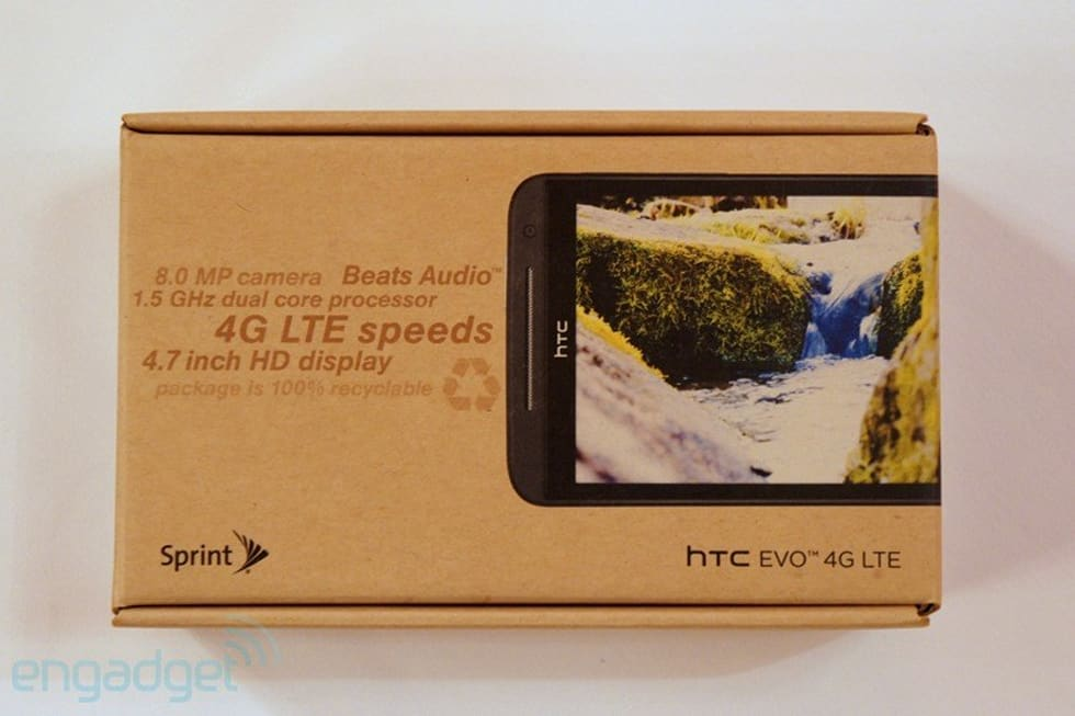 HTC EVO 4G LTE for Sprint review (updated)