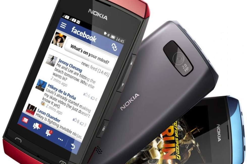 Nokia introduces Asha Touch range of keypad-free feature