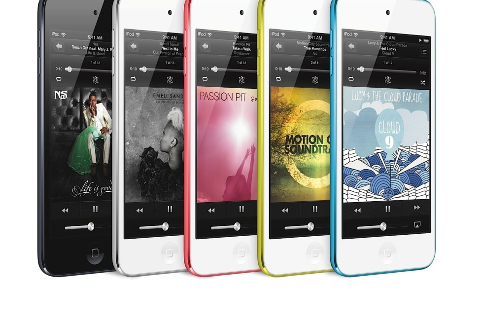 apple announces fifthgeneration ipod touch 4inch screen
