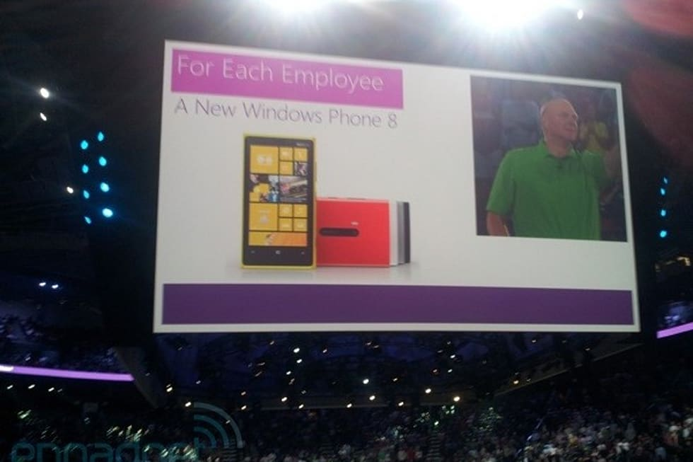 microsoft gifts full time employees with surface tablets windows 8