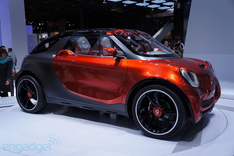Smart Forstars Concept Ev Brings Drive In Theater To A Wall Near You