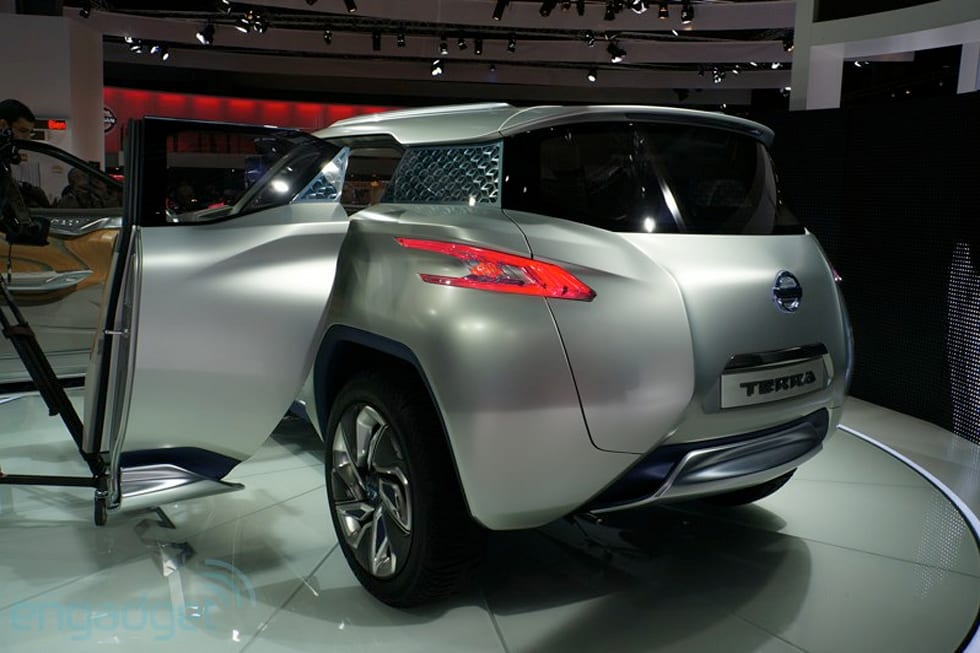 Nissan Terra Concept Takes You And Your Fuel Cell Off The Beaten