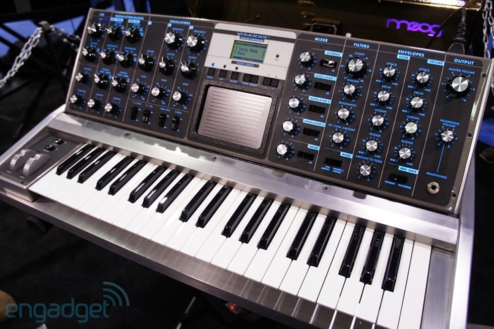 Moog Shows Off One Of A Kind Aluminum Voyager And 10th
