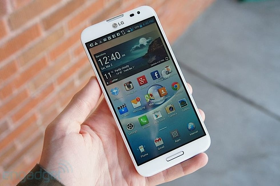 LG Optimus G Pro review: a phone that lives up to Note-sized