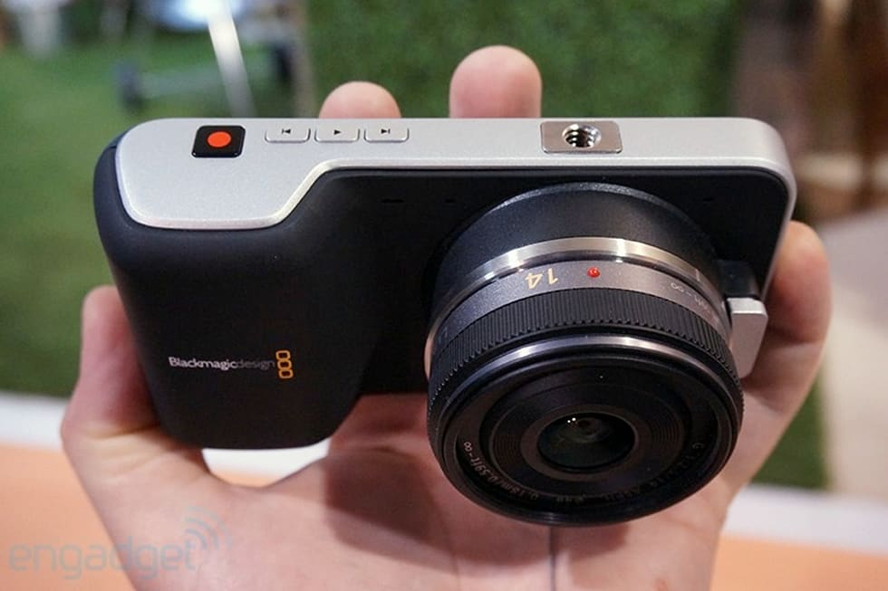 Blackmagic announces Production Camera 4K, $995 Pocket Cinema ...