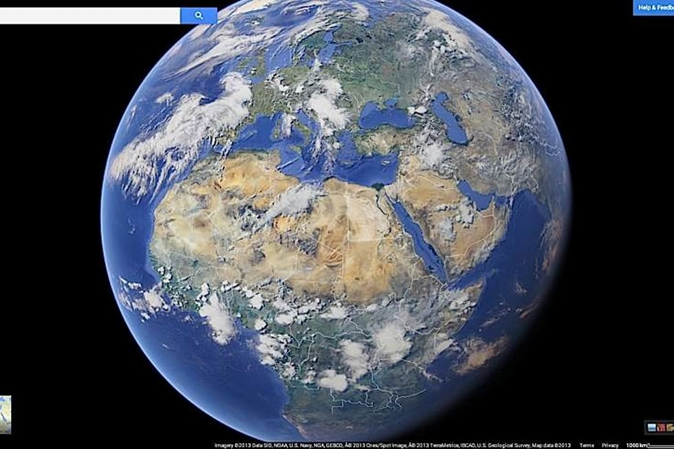 Google Maps Redesigned With Improved Search And Tablet UI Video - Google maps globe