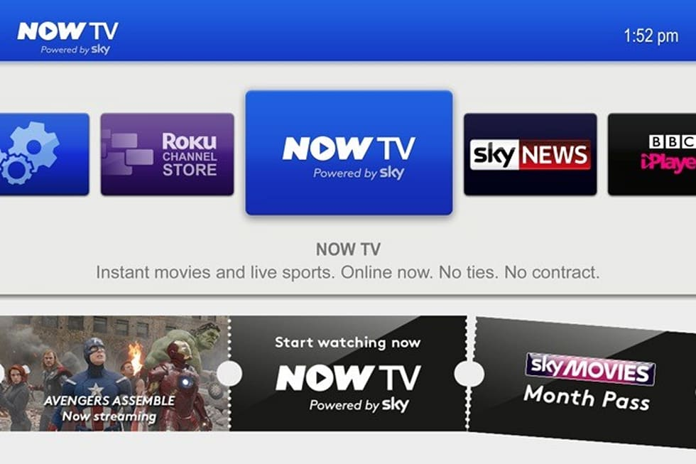 Sky's Now TV box is a £9 99 Roku clone that streams iPlayer