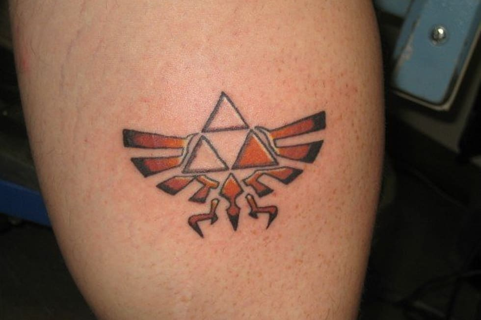 The Zelda Tattoos Or An Ink To The Past