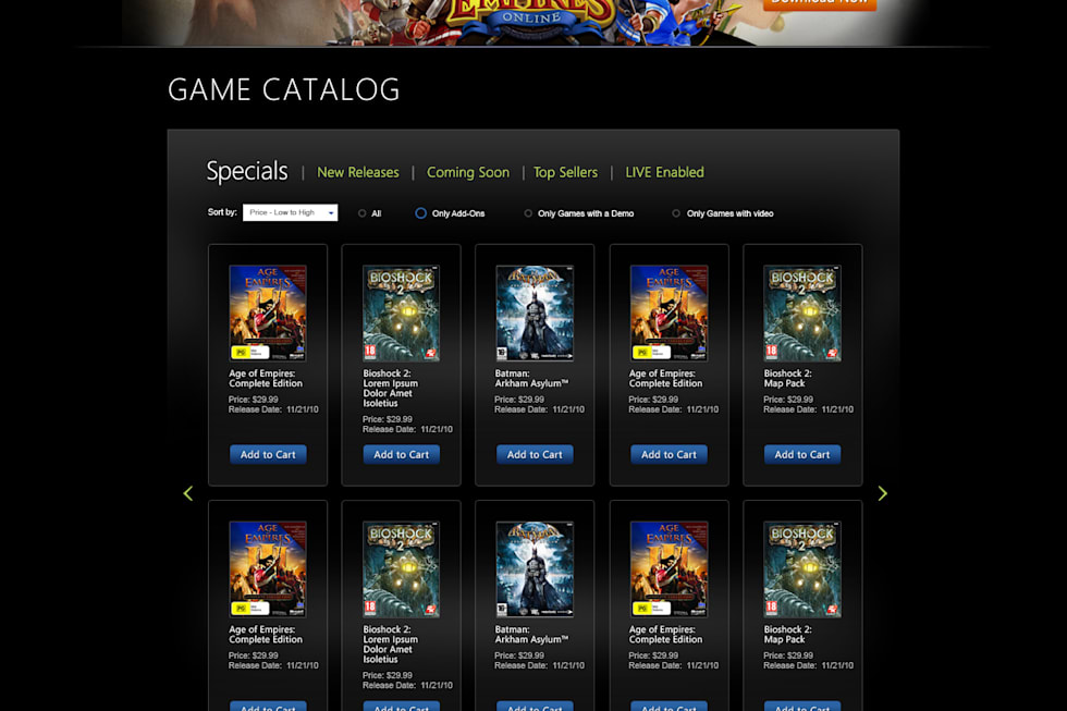Games for Windows Marketplace gets competitive ...