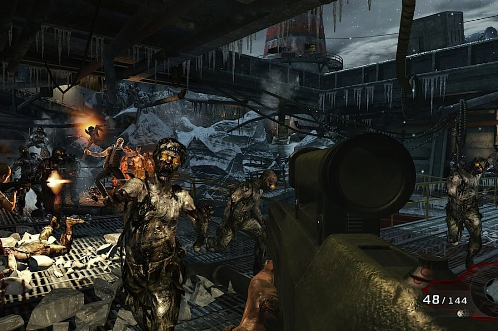 Black Ops Escalation DLC includes Call of the Dead stars George
