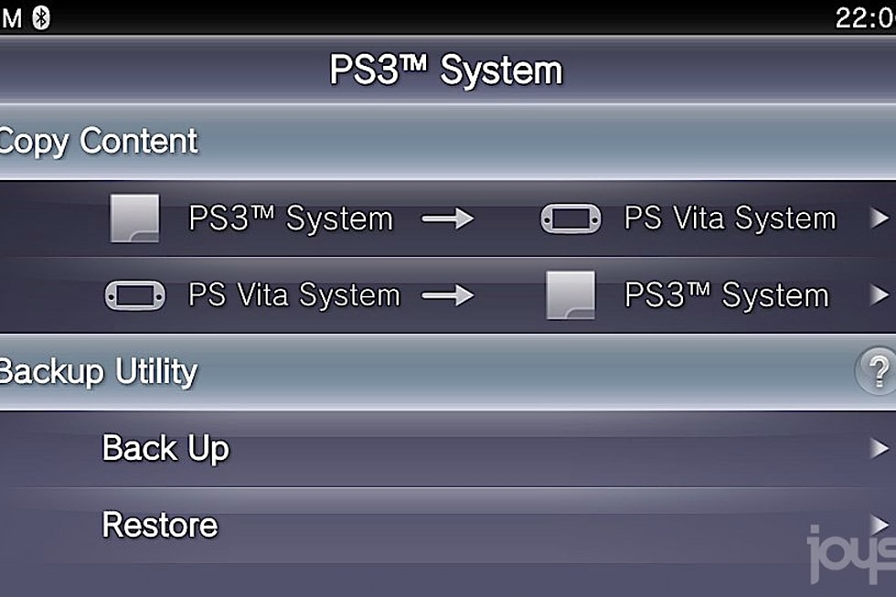 Gallery: How the PS Vita and PS3 connect to transfer data