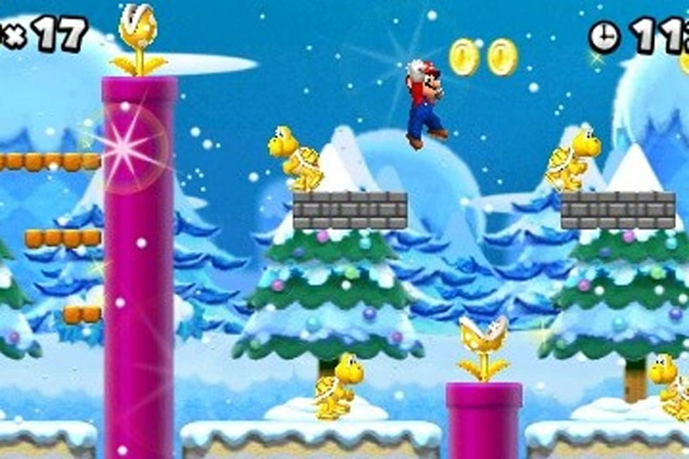 New Super Mario Bros  2 also hits North America this August