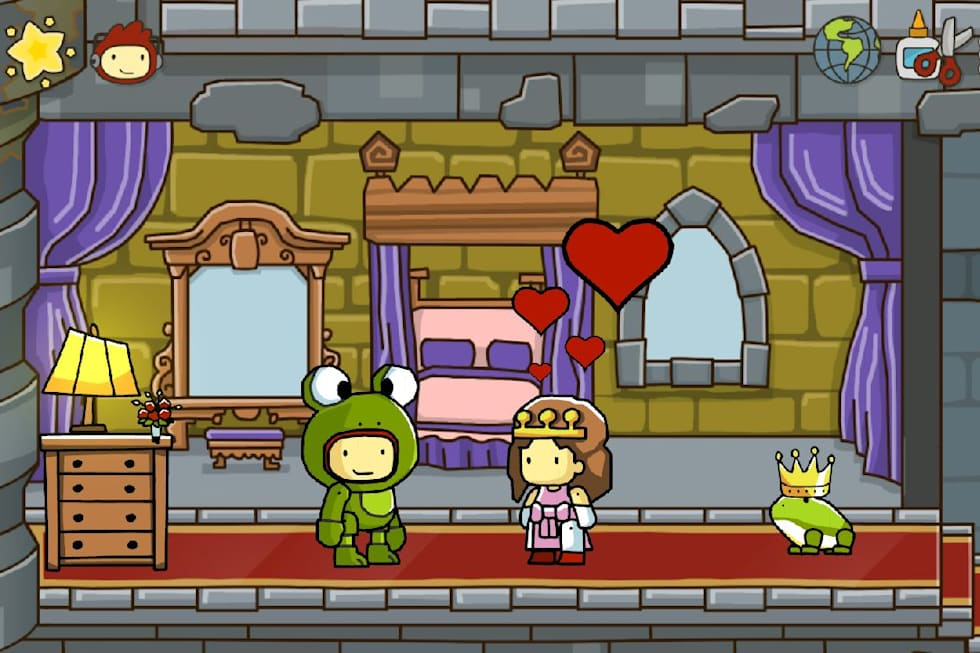 Scribblenauts Unlimited shows off 'Clownthulu,' object