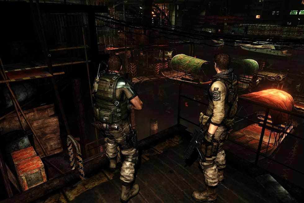 Resident Evil 6 Pc Ships With New Mercs Mode Siege Mode
