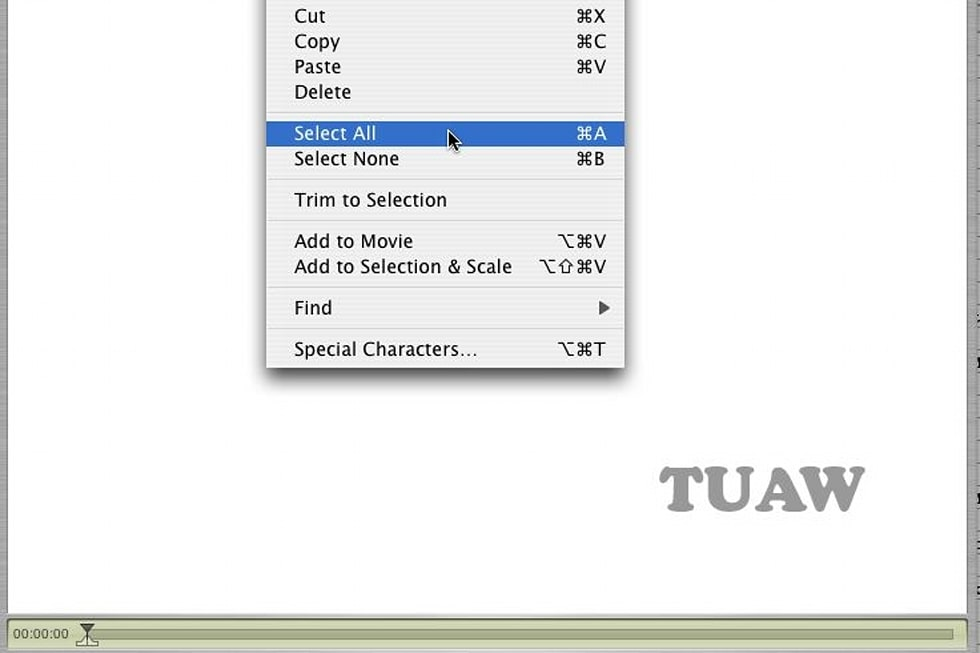 HOWTO: Overlaying a video in QuickTime Pro