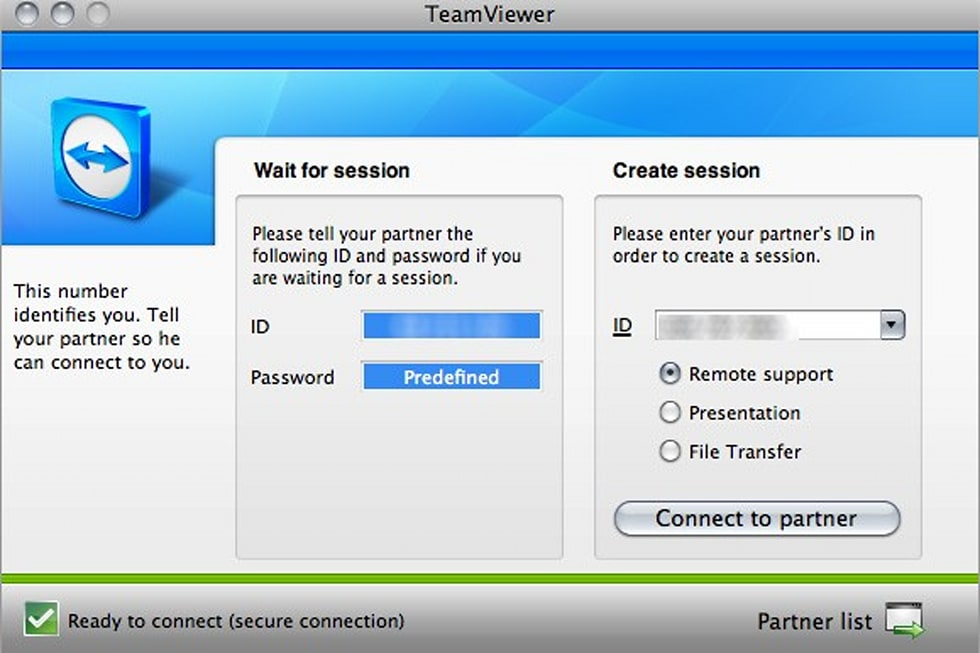 In search of the perfect remote access app: TeamViewer