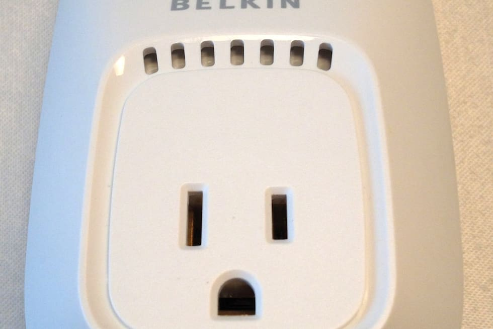 Belkin S Wemo Iphone Based Home Automation With A Taste