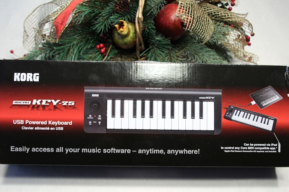 Korg Microkey 25 Keyboard Lets Musicians Practice And Perform Anywhere