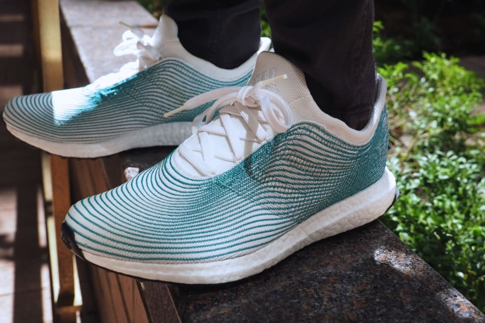 Adidas x Parley: Not your average running shoe