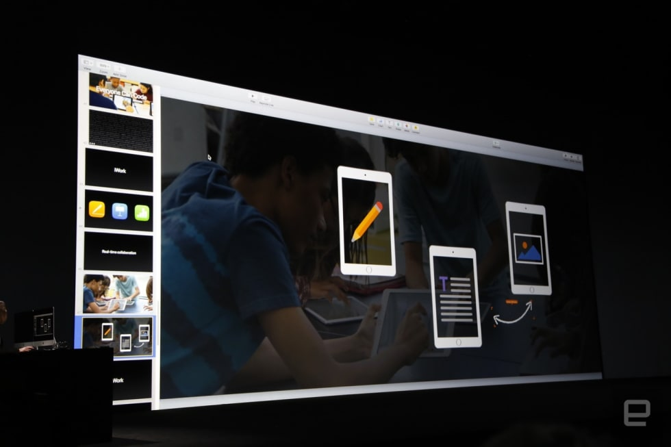 iWork real-time collaboration