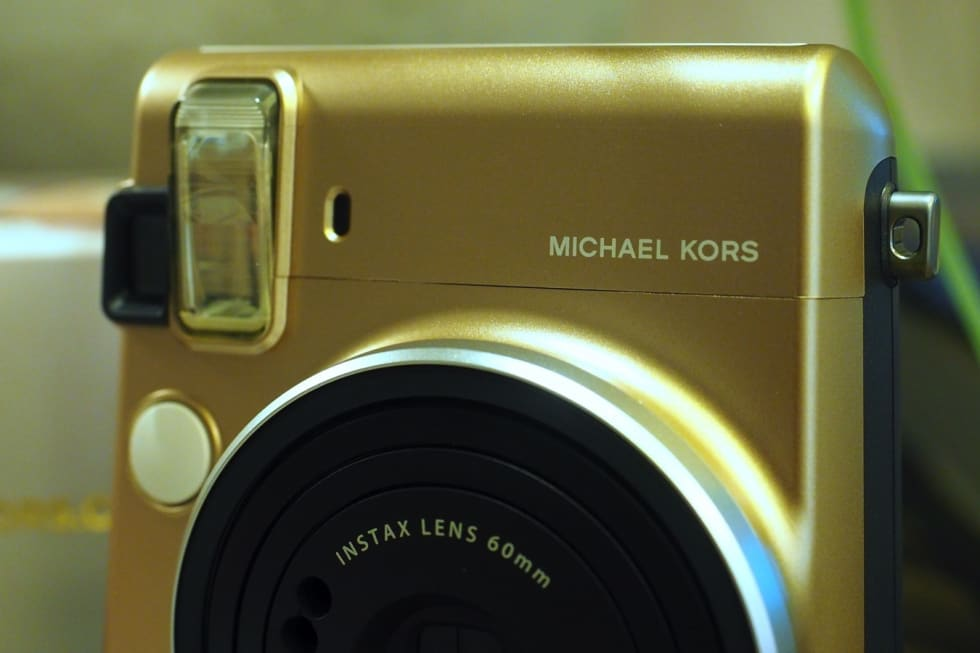 Michael Kors x Fujifilm Instax Mini 70 hands-on