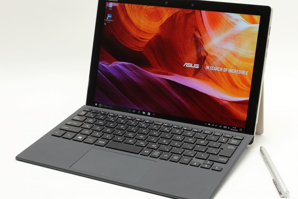 surface pro 4をasusが超えた 2 in 1ノート transbook 3 t303ua