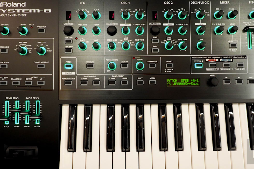 Roland S System 8 Keyboard Is All The Synths You Want In