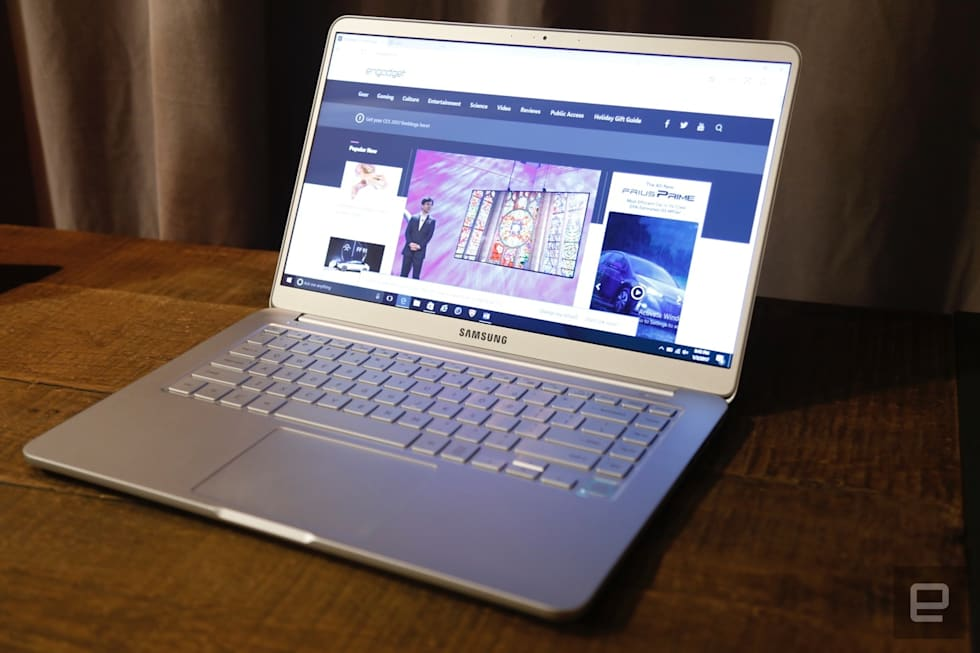Hands-on with the 15-inch Notebook 9