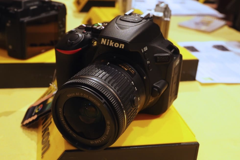 Nikon's D5600 midrange DSLR hits the US this month for $800