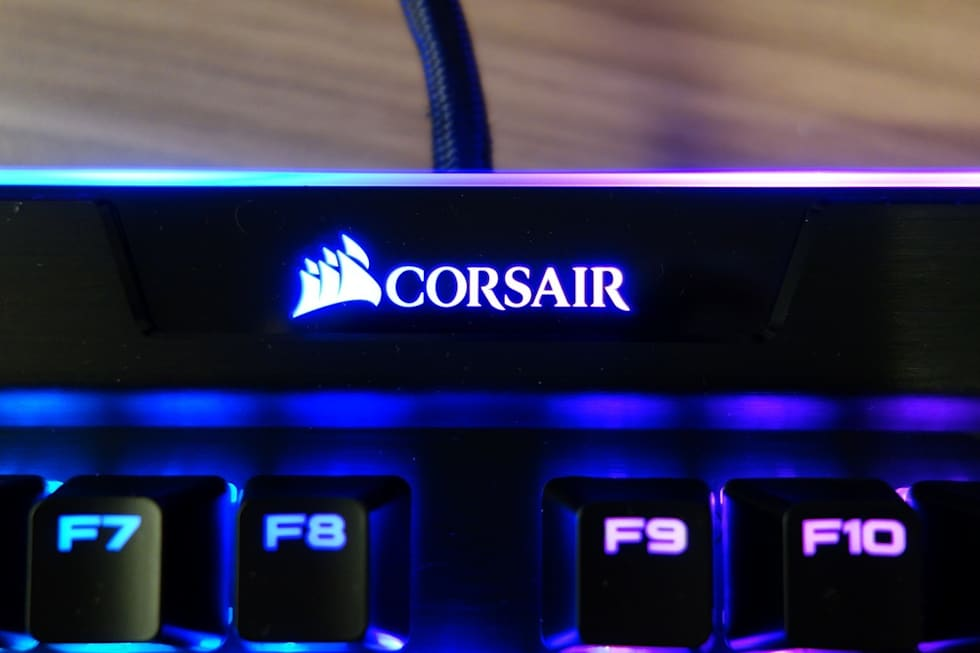 Corsair's new K95 gaming keyboard is surprisingly classy