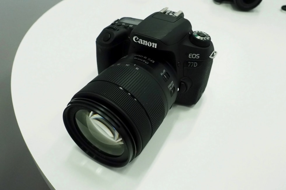 Canon EOS 77D hands-on