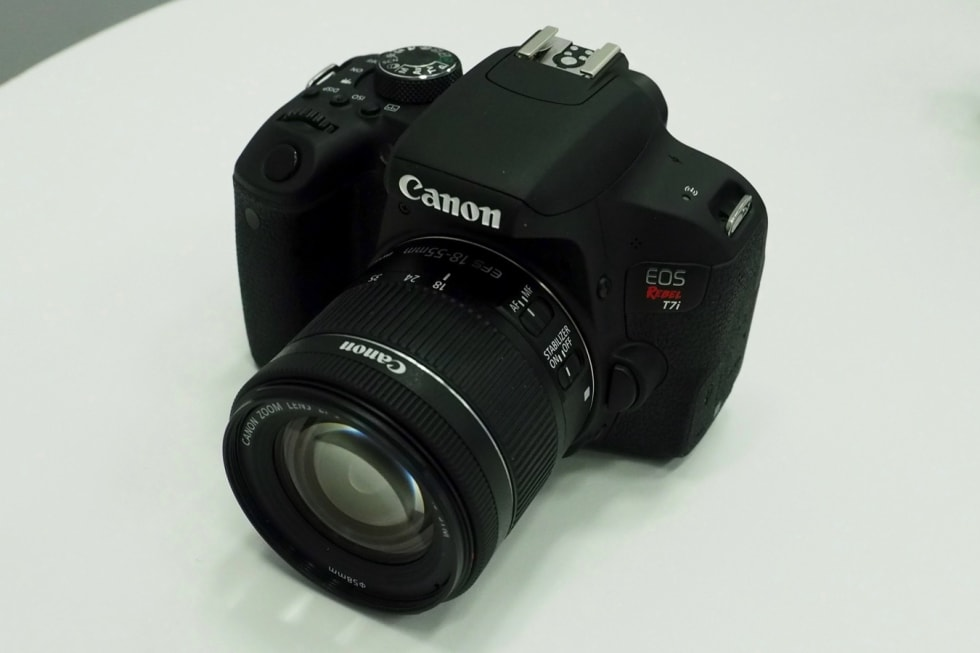Canon Rebel T7i hands-on