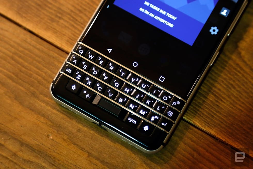 Hands-on with the BlackBerry KEYone