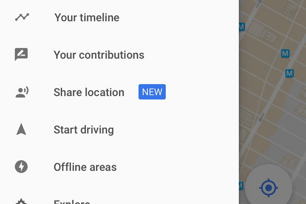 Google Maps' location-sharing feature is one you might ... on google maps icon, google maps listing, find current location, google location finder, google compound, google address location, google location icon, my current location, google location pin, google car location, google maps example, google marker, google maps funny, find ip address location, google my location, google maps history, google products, google latitude history view, marketing location, google location app,